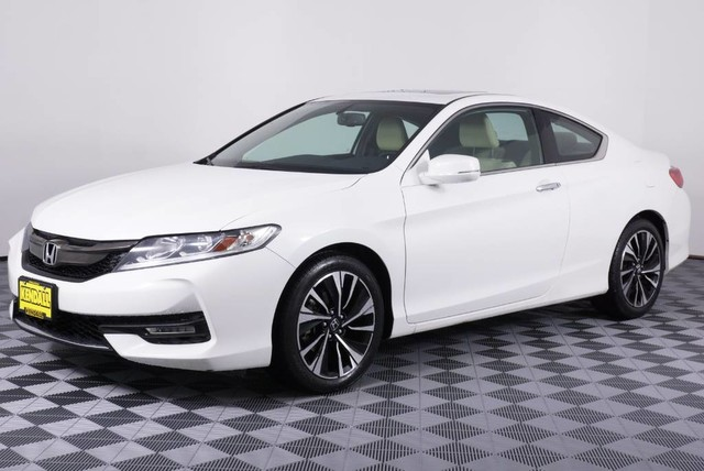 Honda Accord Ex-L >> Pre Owned 2016 Honda Accord Coupe Ex L Front Wheel Drive Coupe