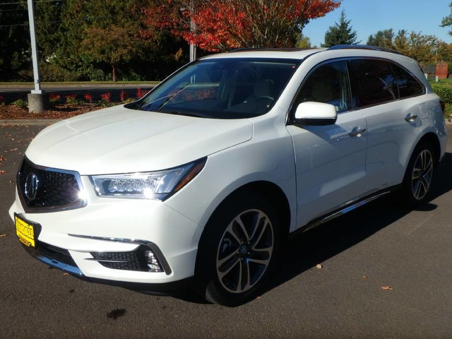 New 2017 Acura Mdx Sh Awd With Advance Package